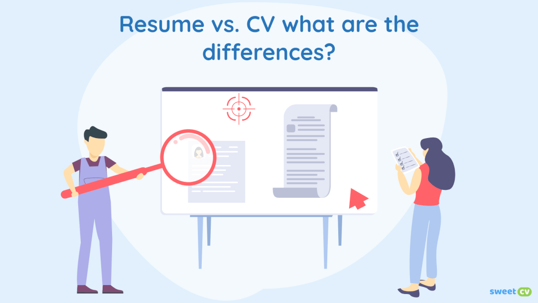 CV vs Resume: Synonyms or two different documents?